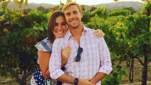 Mark Lukach en zijn vrouw Giulia.