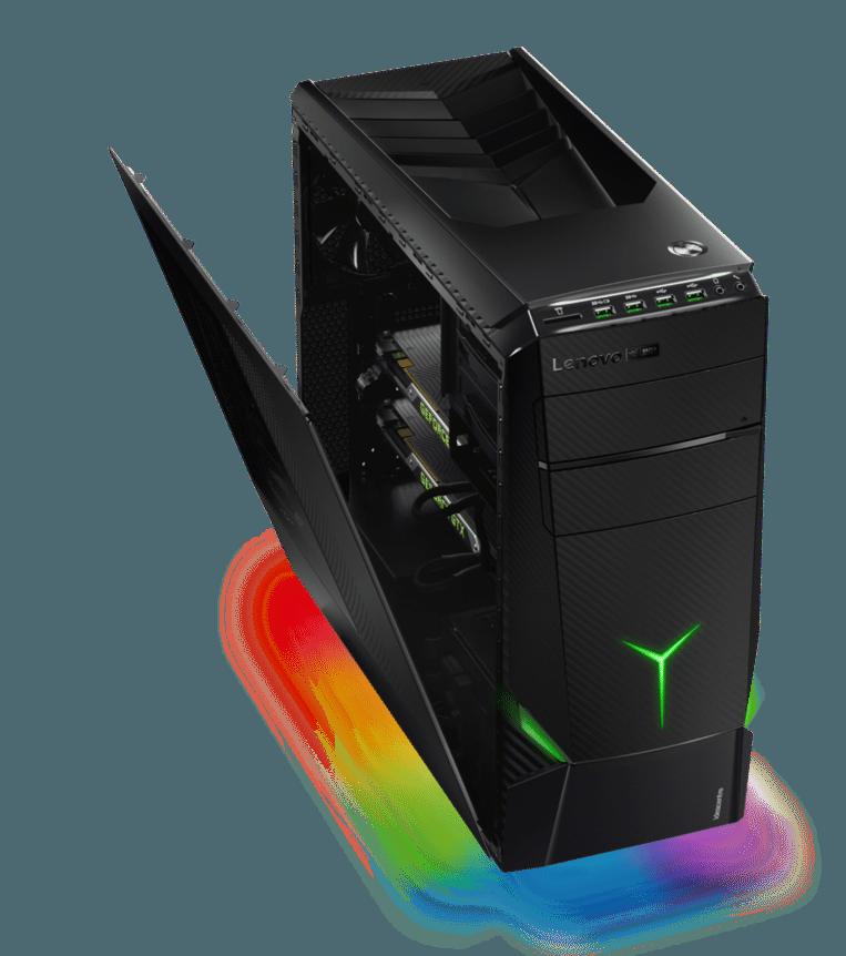 Met de 'Y Series'-pc's richt Lenovo zich specifiek op het gamerplubliek. Beeld Lenovo