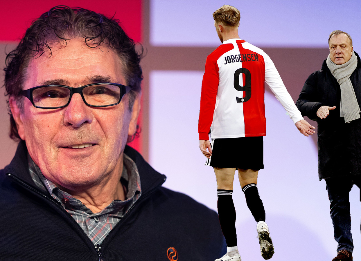 Willem van Hanegem is niet te spreken over Nicolai Jørgensen.