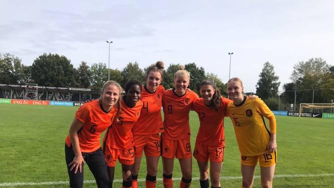 PEC Zwolle drukt met zes speelsters in de selectie wel haar stempel op Oranje O19