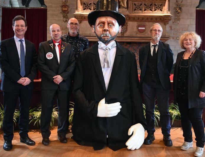 Reus Richard Jean II is een van de nieuwe reuzen.