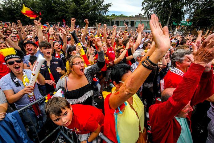 Komt er een EK-fandorp in Brugge? Mogelijk wel, maar alvast niet met duizenden toeschouwers.