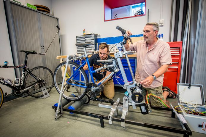 E-bike specialist fietsprofessor TU Arend Schwab