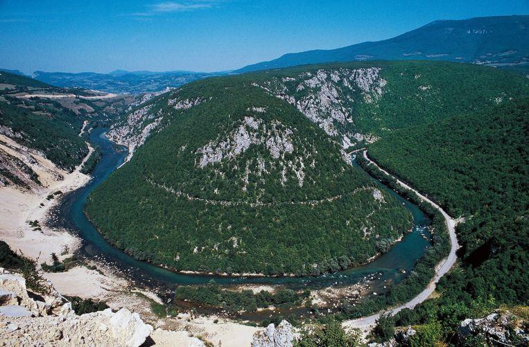 De Vrbas-rivier. Beeld De Agostini / G. Bere