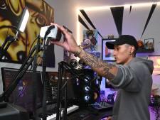 Rapper Nigel Sean uit Grave streamt zijn muziek om eenzaamheid tegen te gaan