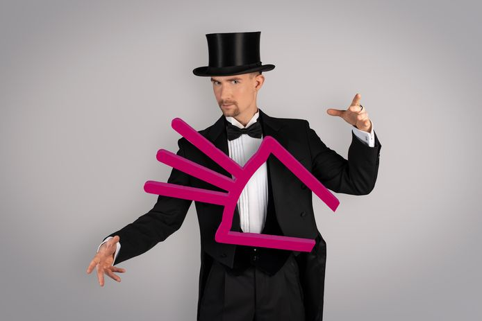 Was illusionist Dion van Rijt vorig jaar nog de publieksfavoriet, dit jaar blijft zijn agenda leeg.
