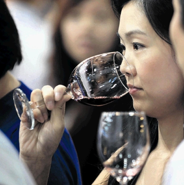 Wijn wint enorm aan populariteit in China, dus de markt voor een eigen product is gigantisch.