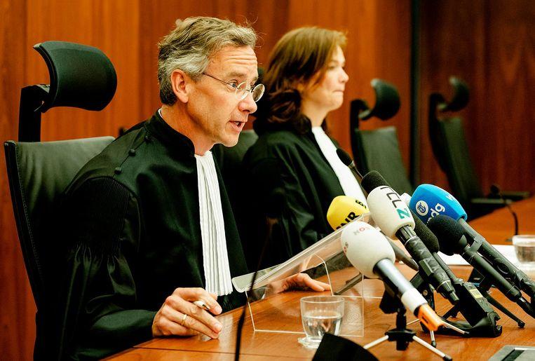 Gijs Makkink, voorzitter van de Ondernemingskamer, deed de uitspraak op 29 mei. Beeld anp