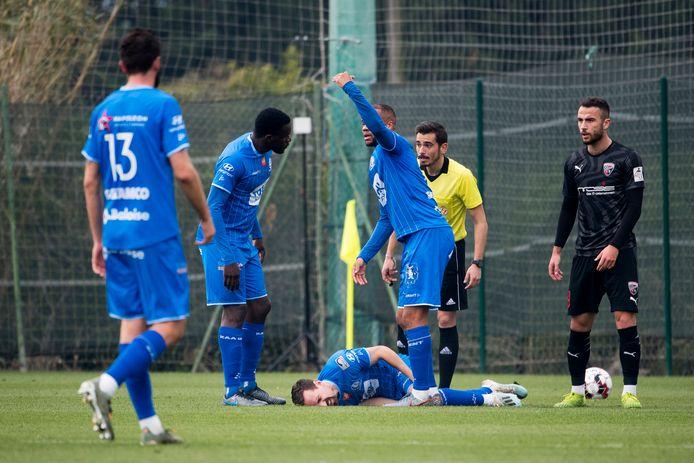 Kums blesseerde zich tegen Ingolstadt.