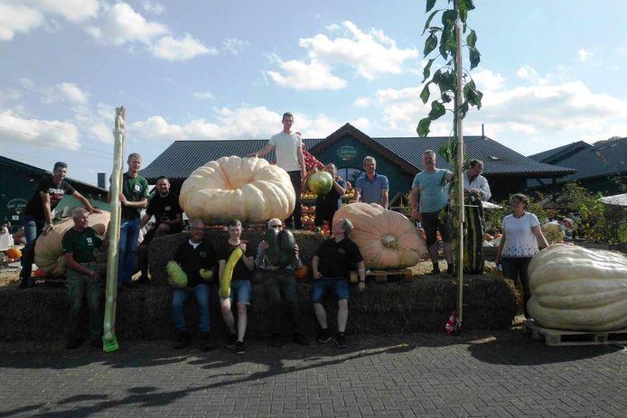 Het podium van het tiende Open Kampioenschap Pompoenwegen in het Duitse Lohmar was dit jaar volledig Belgisch.