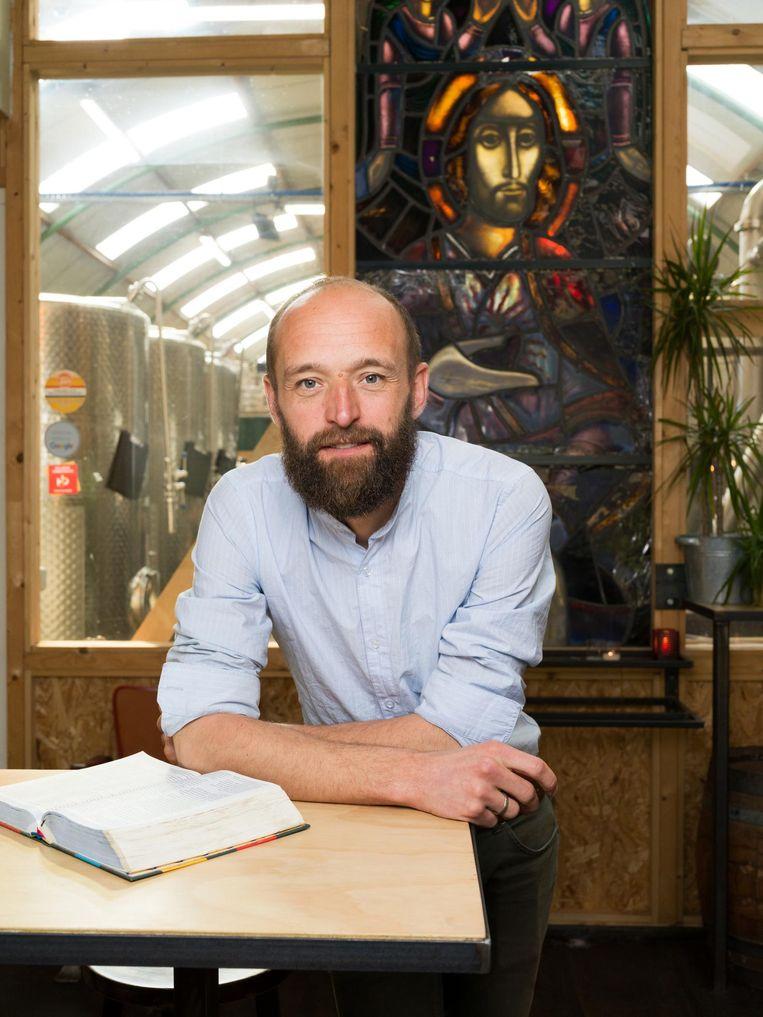 Johannes van den Akker (35) Beeld Ivo van der Bent