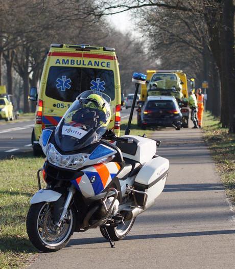 Ongeluk stremt verkeer op N18 tussen Haaksbergen en Enschede