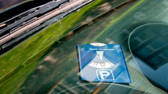 Blauwe zonekaart. Dit najaar ook van toepassing in Oudenbosch.
