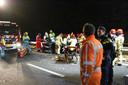 Dodelijk ongeval door spookrijder op A2 bij Maarheeze