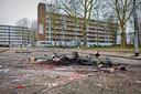 Op oudejaarsavond was het onrustig in de Bredase wijk Hoge Vucht. Aan de Wensel Coberghstraat in buurt Geeren-Noord werd onder andere een beveiligingscamera van de gemeente gesloopt.