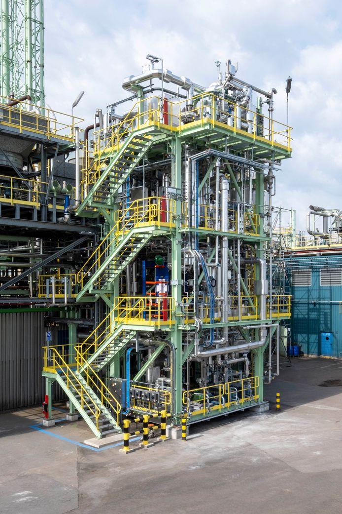 Op de site in Zwijndrecht werd een testinstallatie gebouwd. Indien succesvol zal Borealis de technologie opschalen voor alle fabrieken wereldwijd.