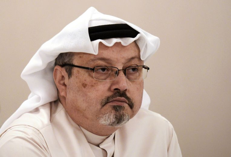 Jamal Khashoggi, in 2014. Beeld AFP