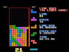 Un joueur de Tetris de génie