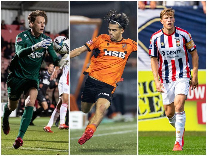 FC Utrecht heeft dit seizoen drie spelers onder contract die op huurbasis bij een andere club spelen: rechtervleugelverdediger Denzo Kasius (19), doelman Thijmen Nijhuis (23) en centrale verdediger Emil Bergström (28).
