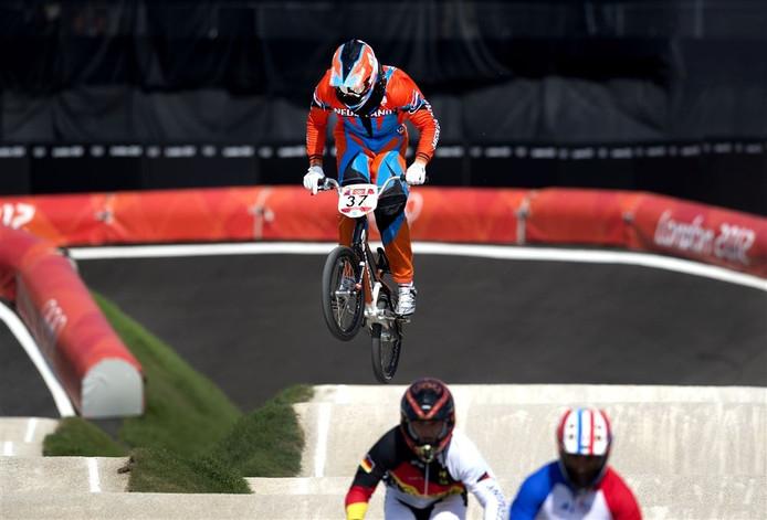 Van Gorkom in actie tijdens de Olympische Spelen in Londen 2012.