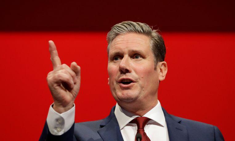 Kan deze Keir Starmer het tij keren voor het fel geplaagde Labour? Beeld AP