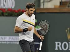 Federer boekt zestiende zege op rij in 2018