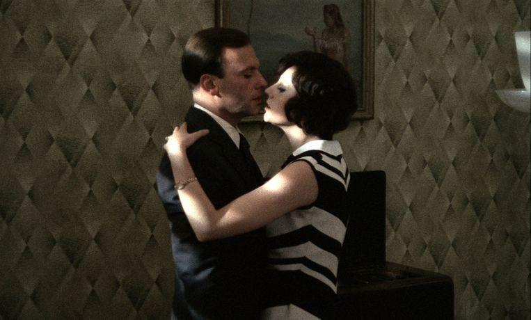 Jean-Louis Trintignant en Stefania Sandrelli in Bertolucci's Il Conformista. Beeld -
