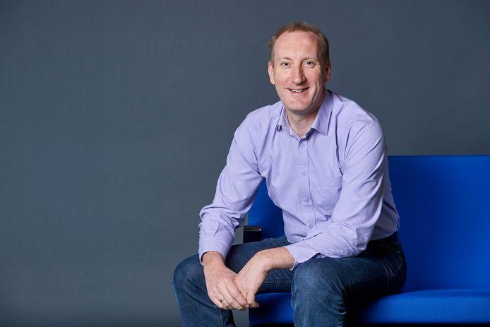 """Patrick Slaets is Chief Data Analist bij technologiefederatie Agoria: """"Digitalisering geeft jongeren de kans om mee te bouwen aan allerlei nieuwe manieren van wonen en werken, consumeren en vrijetijdsbesteding."""""""