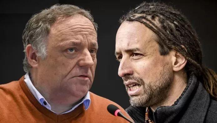 Marc Van Ranst et Willem Engel.