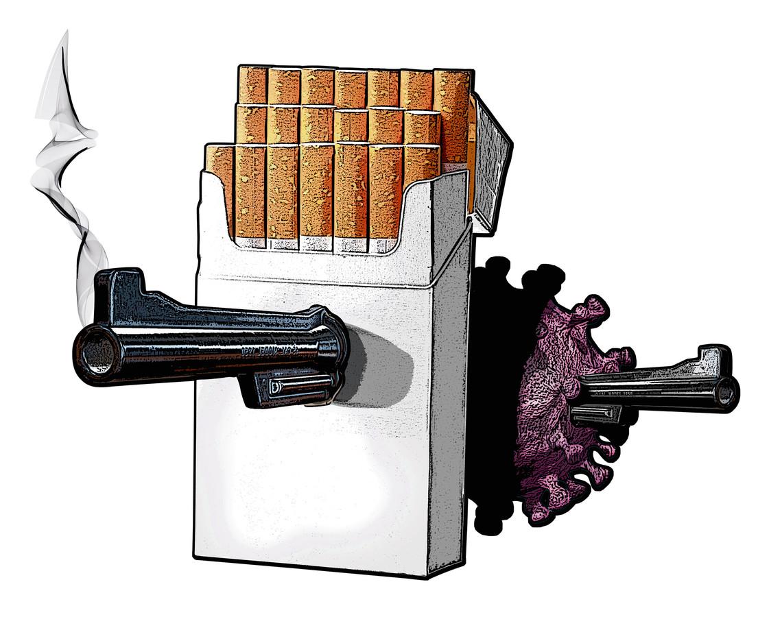 Het wordt hoog tijd dat roken net zo serieus wordt bestreden als het coronavirus. Dat stelt directeur René Medema van het Antoni van Leeuwenhoek-ziekenhuis. Roken kost namelijk meer doden dan corona, blijkt uit cijfers.