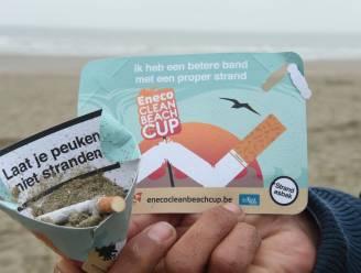 75.000 kartonnen asbakken tegen peuken op het strand