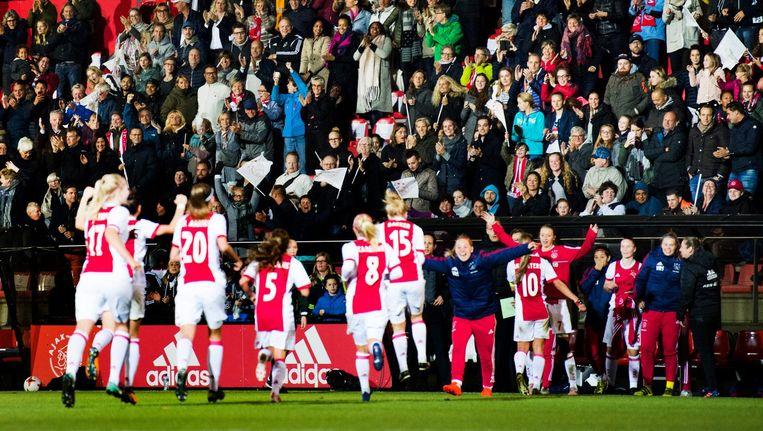 Debuut Ajacieden in Champions League Beeld ANP