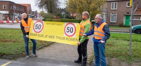 Bewoners 'te drukke' N377 in Nieuwleusen: 'We willen dat de Staten aan de noodrem trekt'