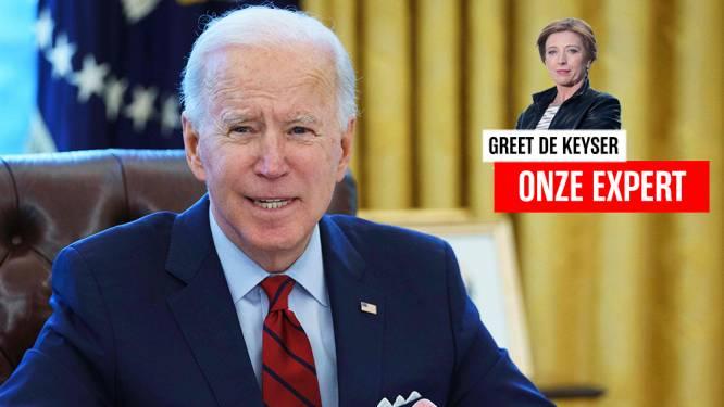 """Greet De Keyser in de VS: """"'Joe Biden wordt een saaie president', zei een vriendin. Was het maar waar, denk ik"""""""