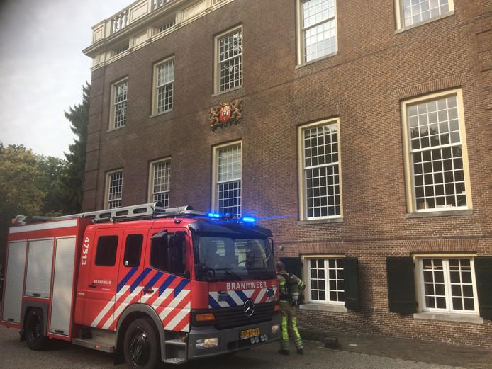 De brandweer rukte vanmorgen voor niets uit naar Goudestein in Maarssen.