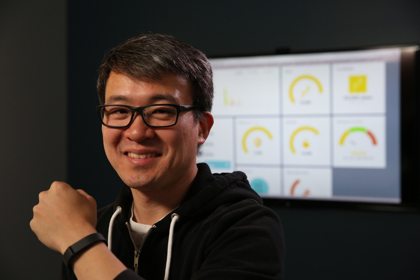 Fitbit-CEO James Park.