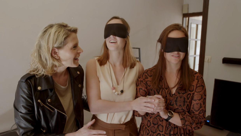 Blind Gekocht, seizoen 2, aflevering 1, Davina Beeld VIER