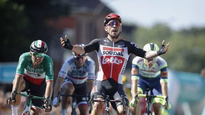 Ewan sprint naar ritzege in Benelux Tour, leiderstrui wisselt van schouders
