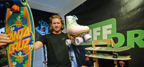 Hengelose webshop drukker dan ooit: 'In coronatijd zijn veel mensen gaan skaten'