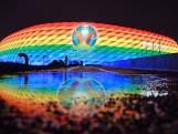 UEFA slaat terug en verandert logo in kleuren van de regenboog