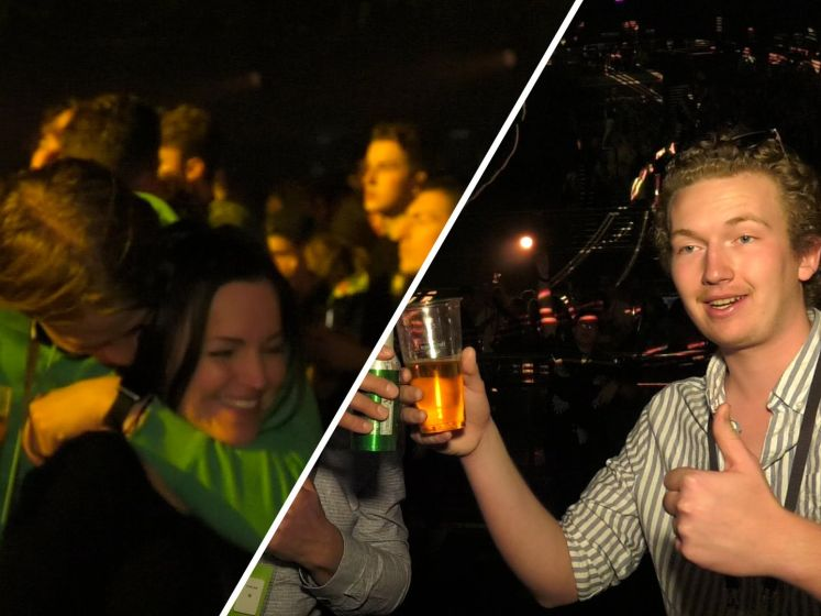 Publiek los bij coronatest in Ziggo Dome