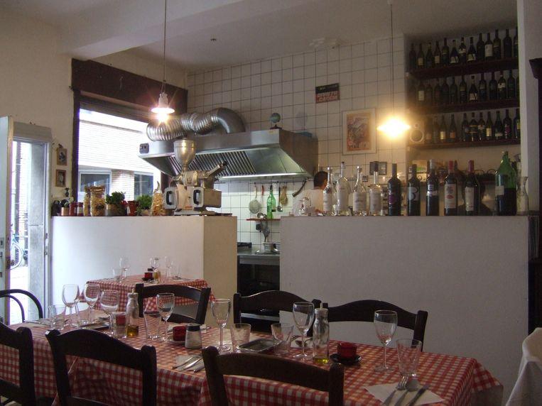 Restaurant Rossi, Leuven. Beeld rv