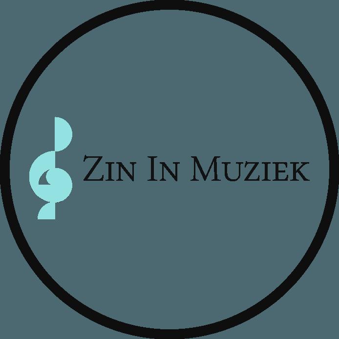 Het logo van 'Zin In Muziek'.