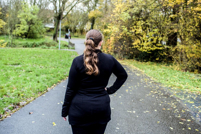 Sofie (pseudoniem) vond hulp bij het Mission-project van de stad Kortrijk. Beeld Tine Schoemaker