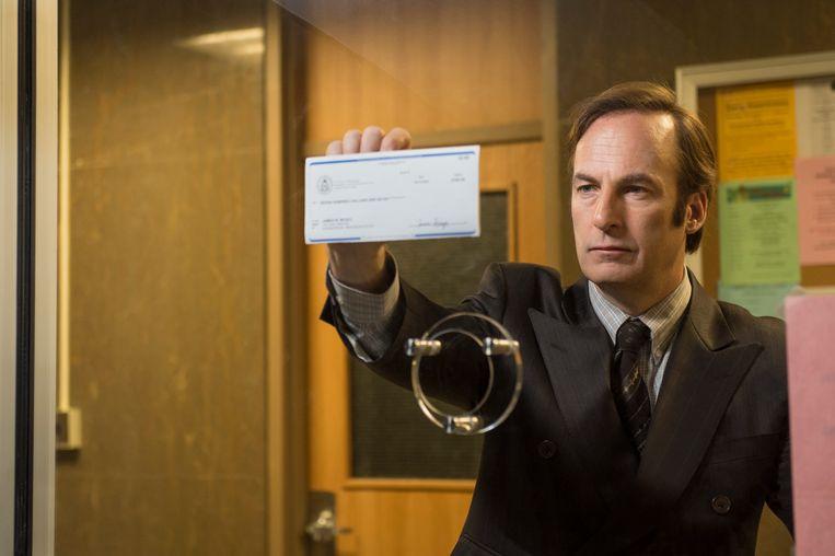 Bob Odenkirk in 'Better Call Saul'. Beeld AP