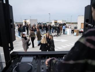 200 jongeren houden feestje op dak nieuwe parking van Linkeroever