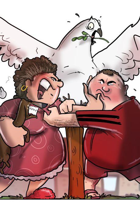 Legertje bemiddelaars probeert angel uit verhitte burenruzies in Dalfsen en Staphorst te halen