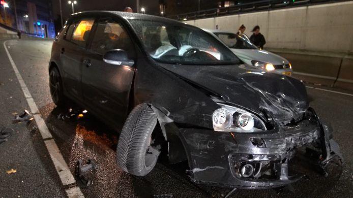 Bij een ongeluk op de Eindhovense Beukenlaan in november vorig jaar was waarschijnlijk ook lachgas in het spel