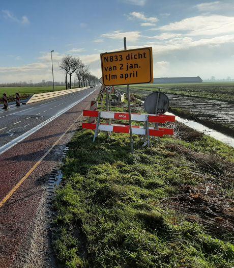 Maanden overlast voor een veiliger weg tussen Buurmalsen en Culemborg