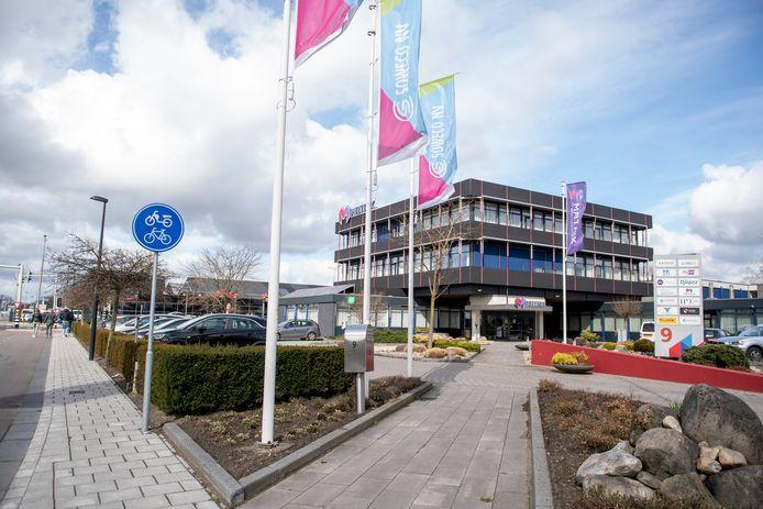 Het hoofdkantoor van Soweco aan de Plesmanweg is tevens een bedrijfsverzamelgebouw.